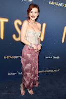 Bella Thorne looks stunnign in a designer gown at the Premiere of Midnight Sun ~  Exclusive Galleries 014.jpg