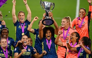 Lyon dominance, win their seventh title and fifth in a row, 2019-20 Women's football champions, Stats, Records.