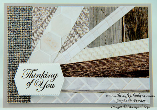 #thecraftythinker #cardmaking #stampinup #SDBH #masculinecard #ingoodtastedsp , Masculine Card, In Good Taste DSP, Stampin Dreams Blog Hop, Stampin Up Demonstrator, Stephanie Fischer, Sydney NSW
