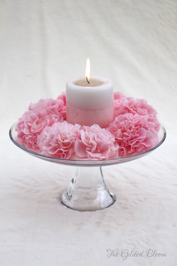 Camellias and Candlelight- www.gildedbloom.com