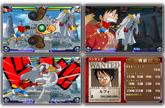 Nueva información y video de One Piece: Great Pirate Colosseum