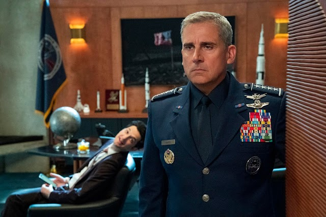 Netflix divulga teaser trailer de Space Force, com Steve Carell