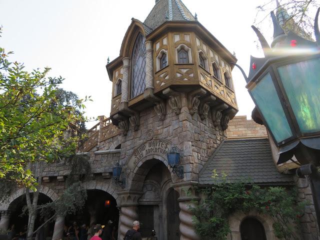 Snow White's Scary Adventures Entrance Disneyland