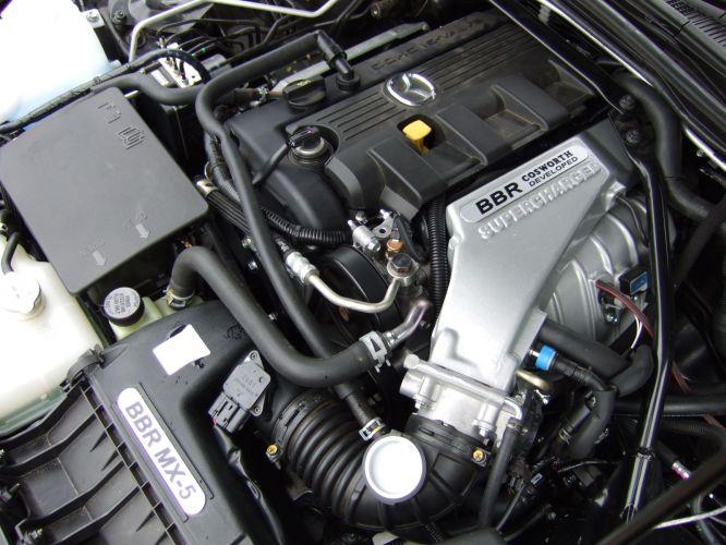 Mazda MX-5, kultowy, legendarny, 日本車, スポーツカー, オープンカー, マツダ, NC, trzecia generacja, kompresor, supercharger, BBR
