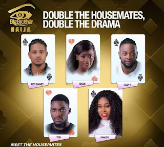 (BBNaija) Big Brother Naija 2018 Housemates