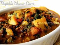 Vegetable Masoor Curry