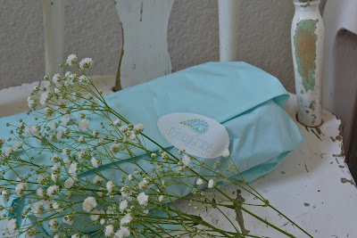 Paisley Grace Boutique Aqua paper,