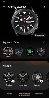 Galaxy Watch3 Plugin