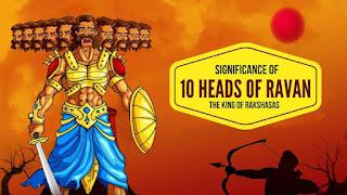 Ravana 10 heads