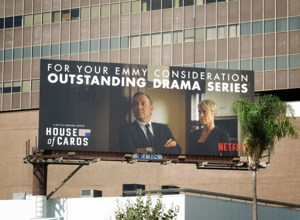 House of Cards 2014 Drama Emmy billboard