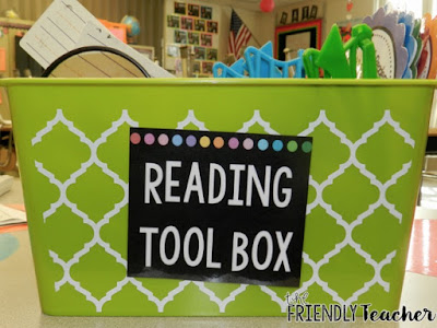 Love small group reading? Check out the Reading Toolbox. It'll make your planning easier so you can get to teaching — and students love it!