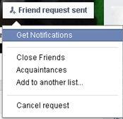 Resend a Facebook Friend Request