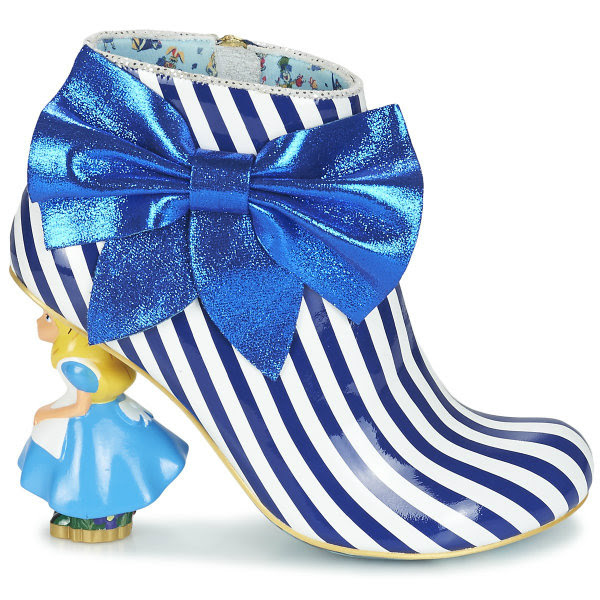 Irregular Choice Disney Alice In Wonderland Who In The World Am I? stripes