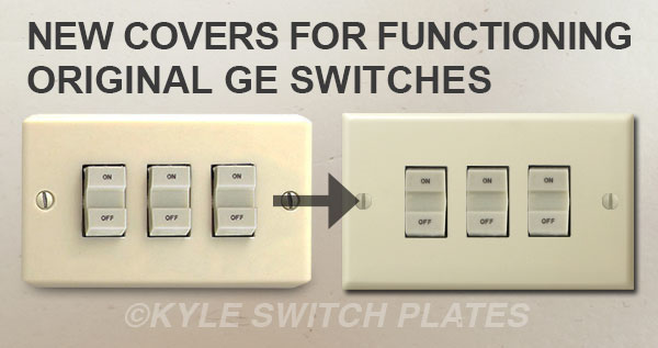 Kyle Switch Plates  New Replacement Parts For Residential Ge Low Voltage Lighting