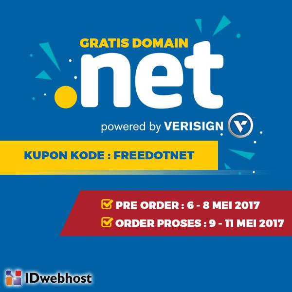 Domain dot net Gratis!