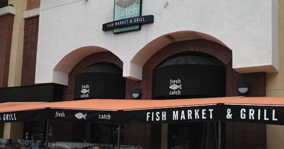 Sandiegoville hillcrest 39 s fresh catch fish market grill for Fish grill beverly