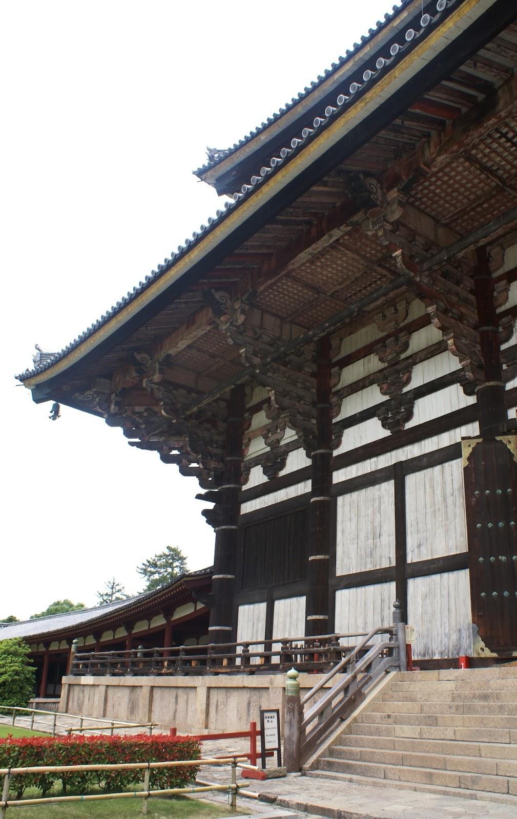 nara daibutsu den todai ji japan asia