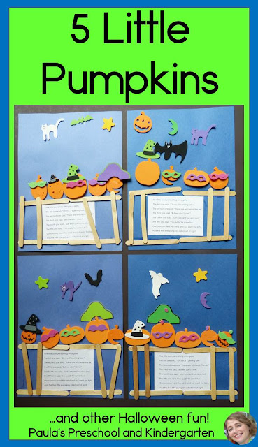5 Little Pumpkins, and other Halloween fun