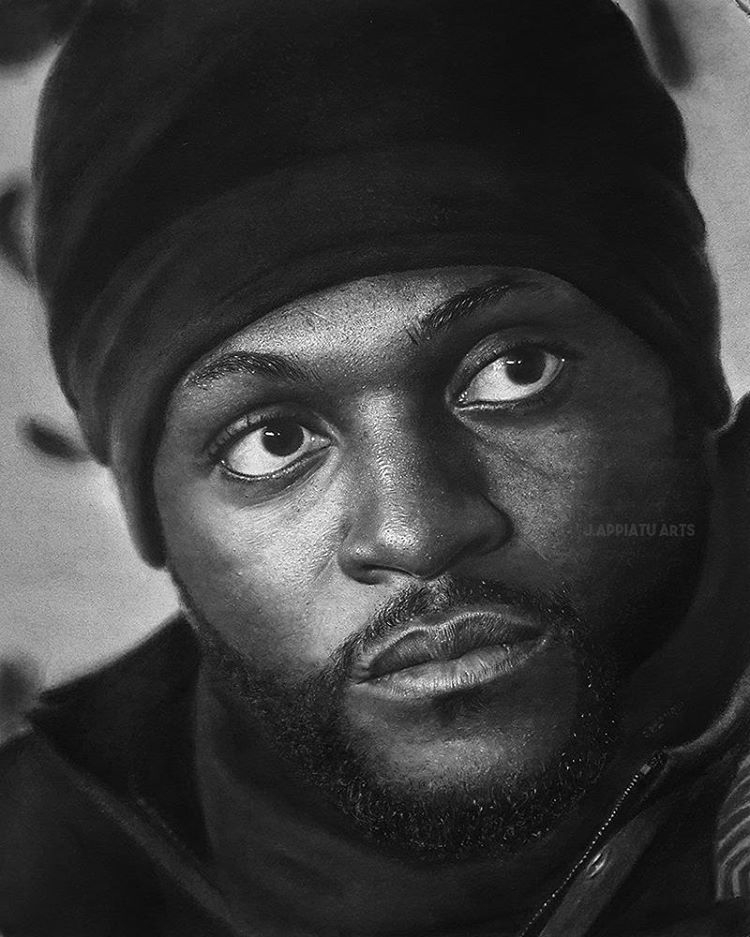 05-Emmanuel-Adebayor-Jeffrey-Appiatu-Celebrities-Expression-Immortalised-in-Portrait-Drawings-www-designstack-co