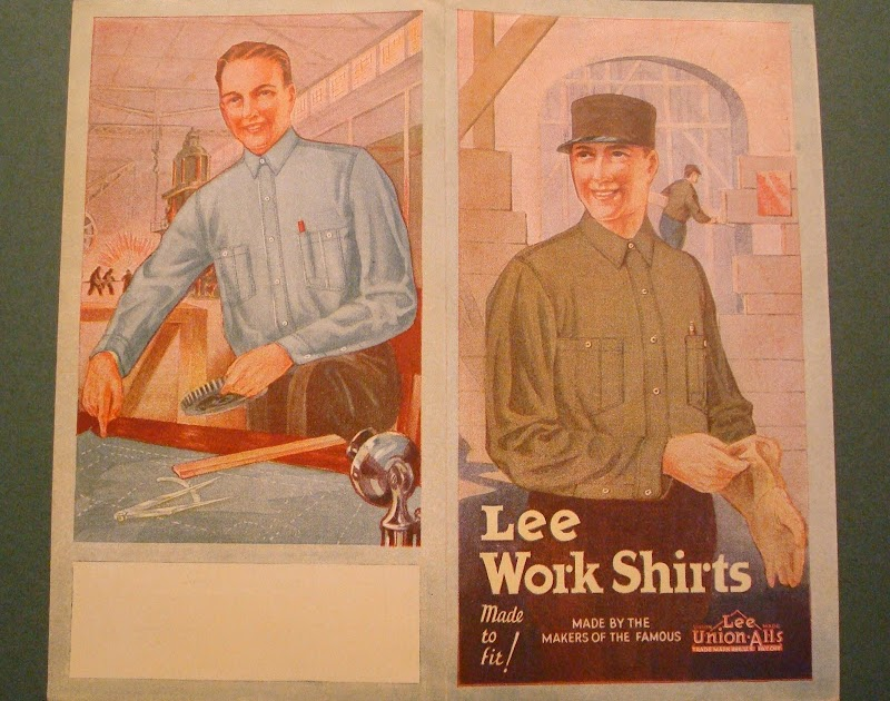 Vintage Workwear Early 20th Century Lee Work Shirts