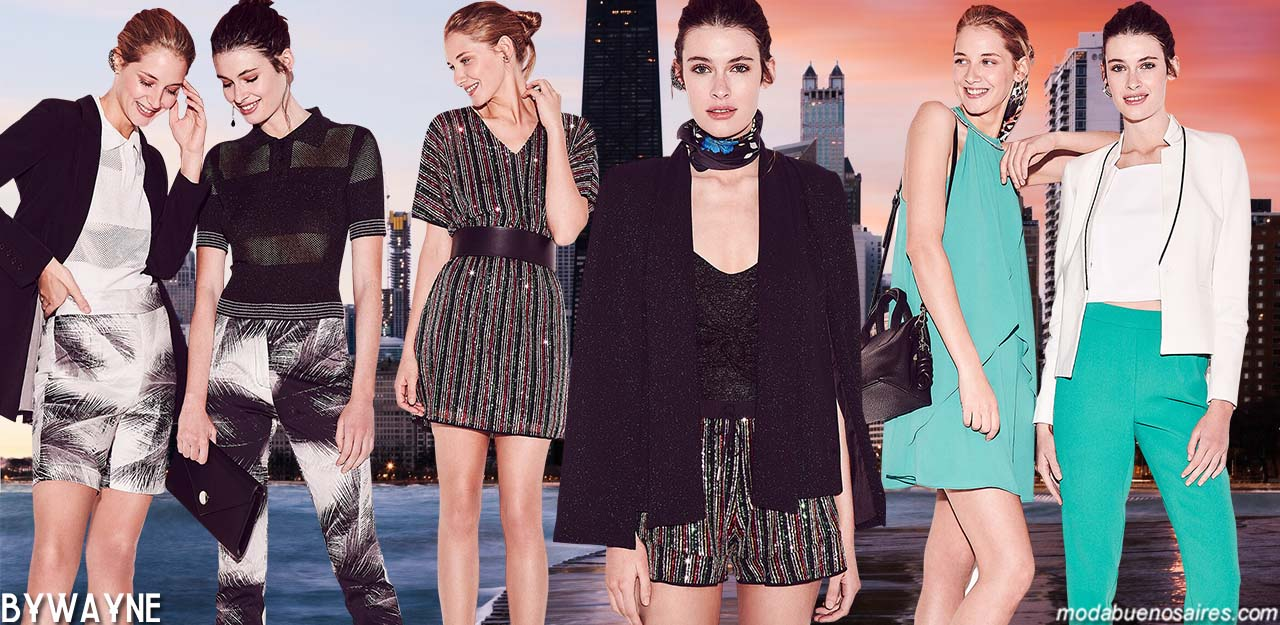 Moda noche primavera verano 2020. Vestido de fiesta y coktail, blusas, faldas y pantalones de fiesta primavera verano 2020.