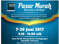 Catat! Pasar Murah Ramadhan Digelar 7-20 Juni 2017 di Jakarta