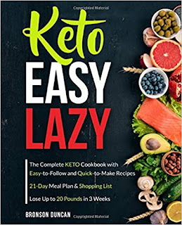 Keto Easy Lazy: The Complete Keto Cookbook with Easy-to-Follow and Quick-to-Make Recipes (keto diet cookbook)  on Nikhilbook