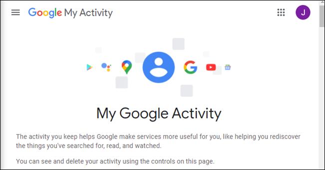 صفحة نشاطي على Google.