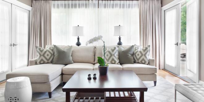 kleines wohnzimmer einrichten L förmiges sofa und ...