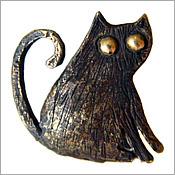купить кулон кот кулон кошка бронзовые украшения россия крым подарок девушке