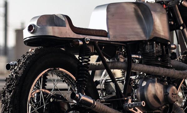 Kawasaki KZ400 độ Cafe Racer