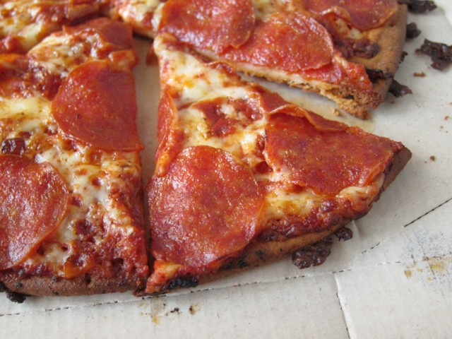 Pepperoni Pizza Pizza Hut Slice