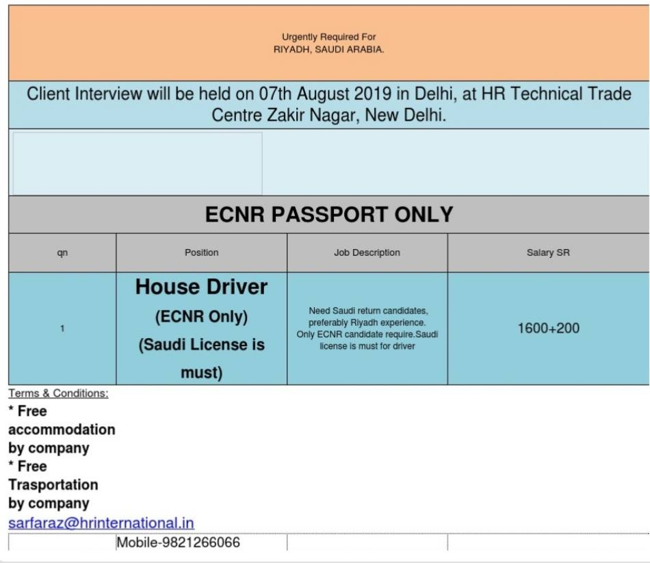 GCC INTERVIEW – GCC JOBS FOR YOU