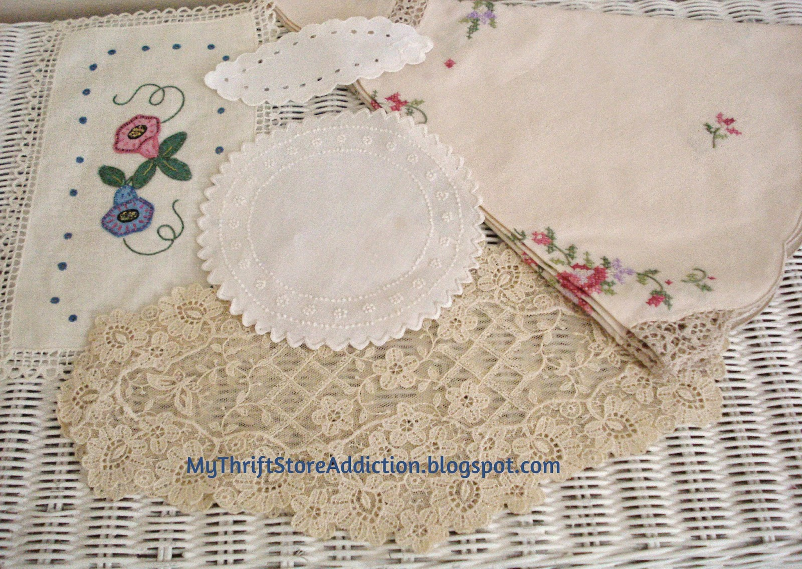 Estate sale vintage linens