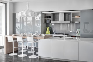 Light-Grey-Kitchen-Cabinets-Contemporary
