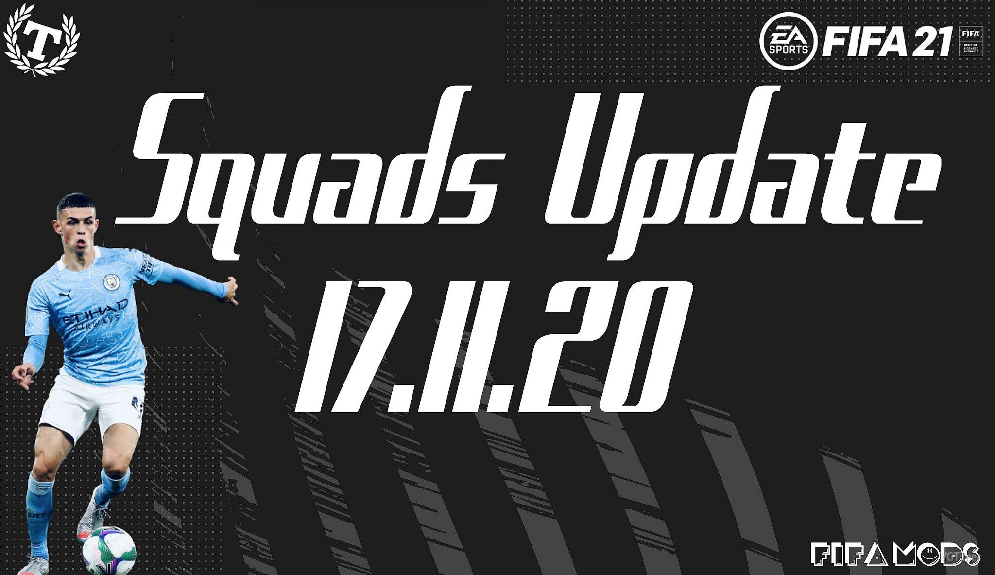 FIFA 21: Squad update (17/11/2020) Download