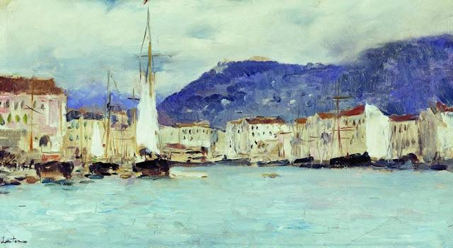 Исаак Ильич Левитан - Итальянский пейзаж. 1890