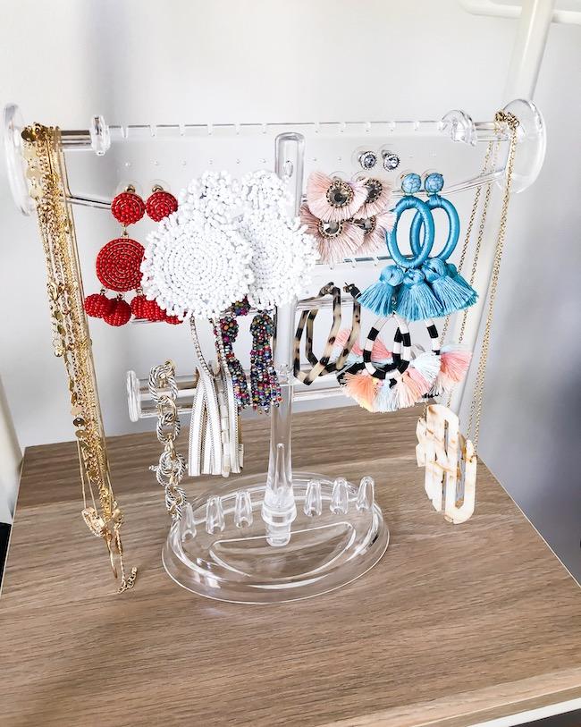 Amazon jewelry display acrylic