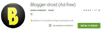 aplikasi android untuk ngeblog di android