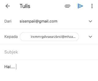 Cara Menggunakan Email Sementara