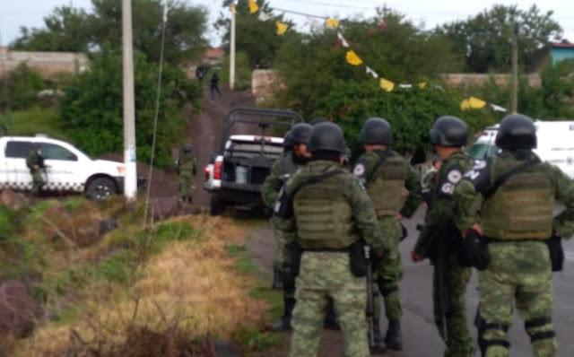 Duro golpe Guardia Nacional captura a 15 integrantes del Cártel Jalisco Nueva Generación en Michoacán
