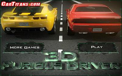 3D Furious Driver - Jeu de Simulation sur PC