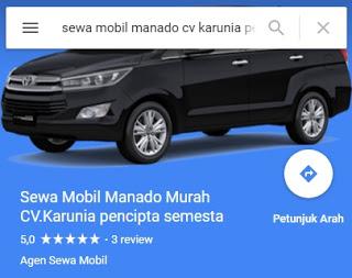 Rantal Mobil Manado