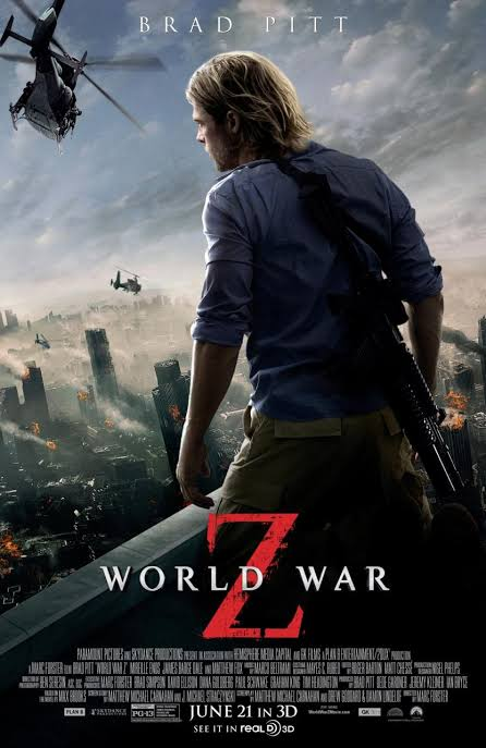 World War Z 2013 Full Movie Download in Hindi 480p, 720p Bolly4u