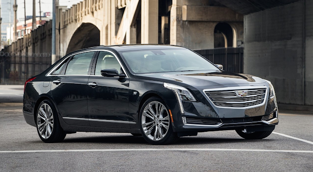2016 Cadillac CT6 black
