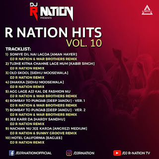 R-NATION HITS VOL. 10 - DJ R NATION