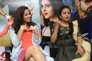 Actress Suma in Black Salwar Suit and Anusuya in orange Dress at winner movie press meet part 2 February 2017 (58).JPG