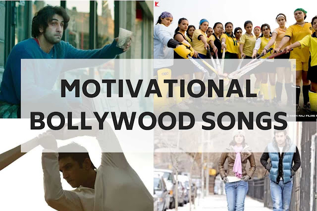 Motivational songs have the power to move us- onwards and upwards