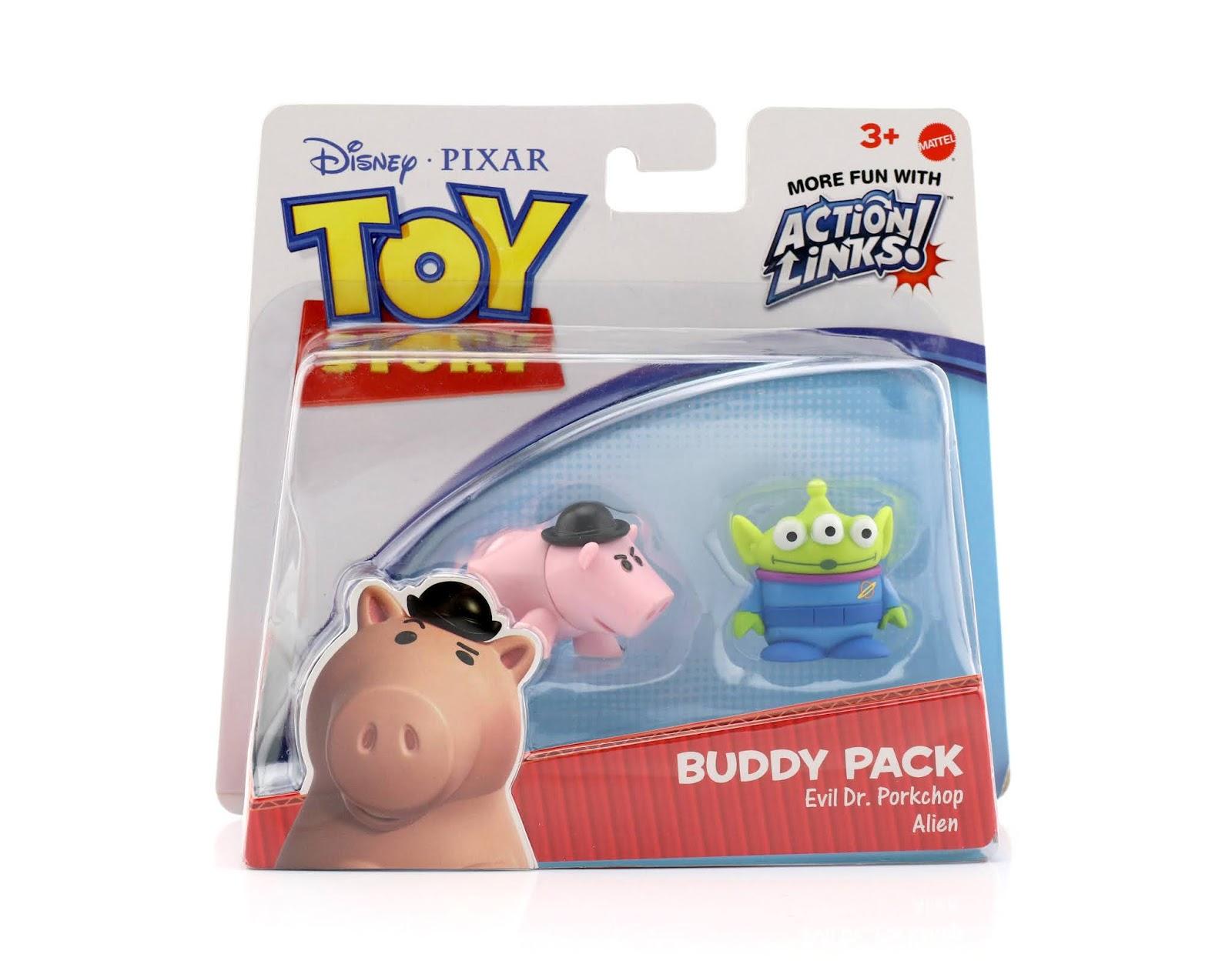 evil dr. porkchop toy story buudy pack