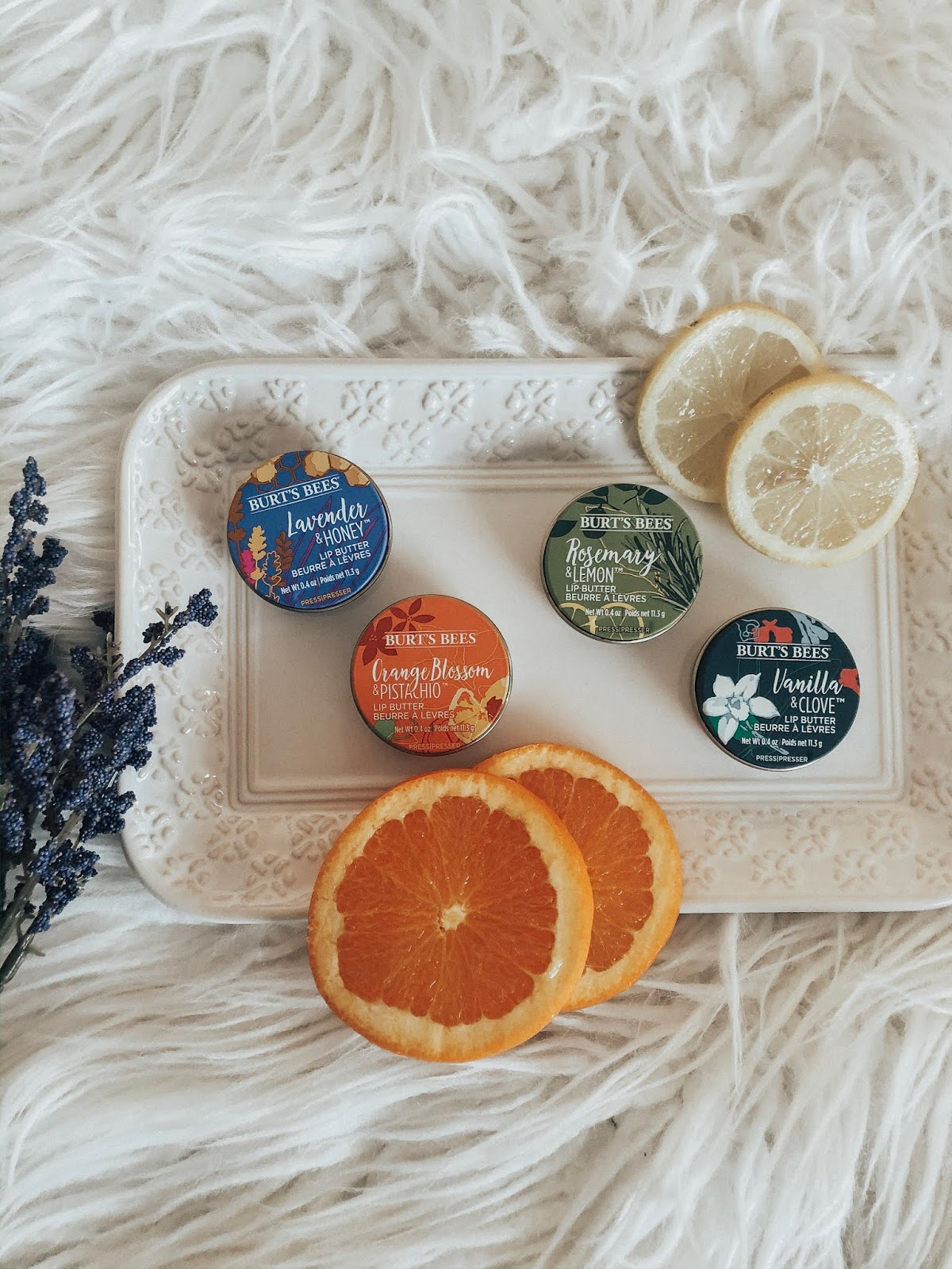How To Soothe Dry Cracked Lips This Winter - Affordable by Amanda - Burt's Bees Lip Butters